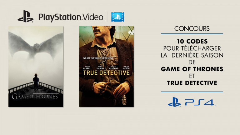 Concours PlayStation Video : Gagnez vos codes séries HBO !