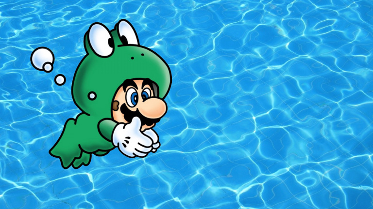 Super Mario Maker : Le costume Grenouille de Super Mario Bros. 3 disponible