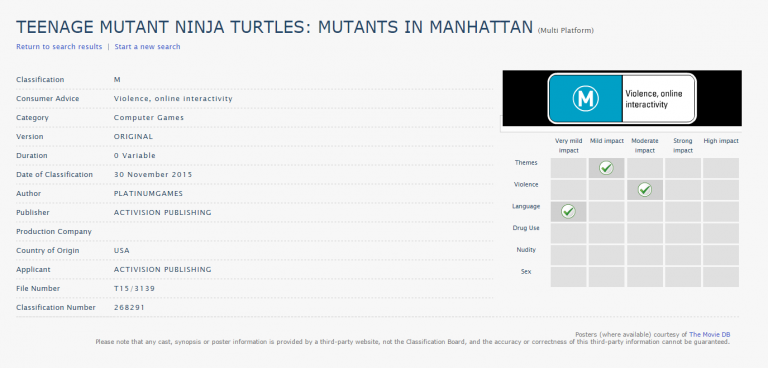 PlatinumGames développerait-il un jeu Tortues Ninja ?