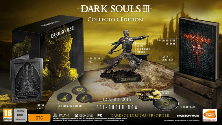 Dark Souls 3 : Date de sortie et collector