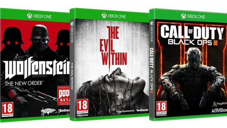 Promo : Xbox One 1 To Rise of the Tomb Raider + Black Ops 3 + Evil Within + Wolfenstein à 349 €