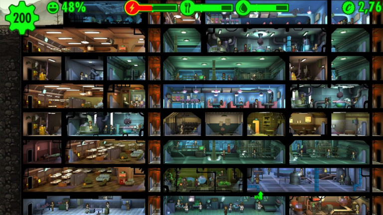 Fallout Shelter accueille les animaux