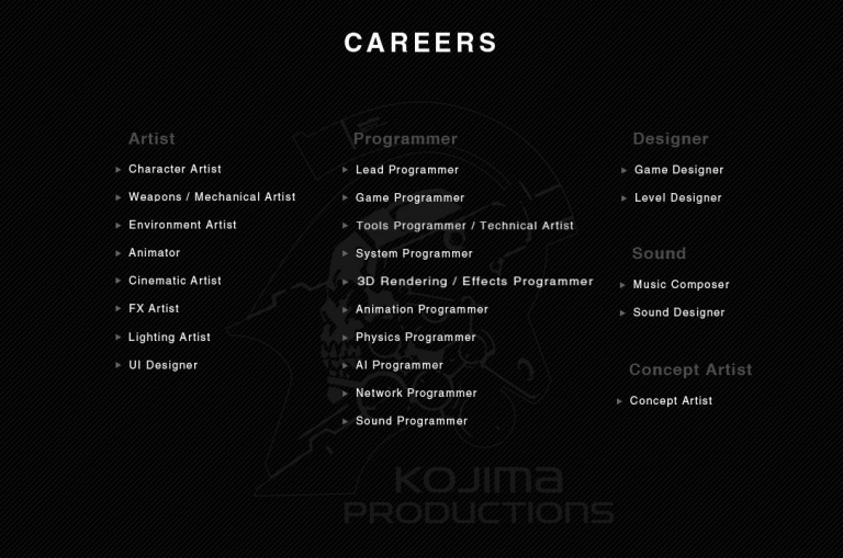 Sony s'offre Kojima: nouveau studio, nouveau logo et une vidéo