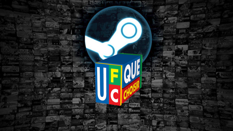 L'UFC-Que Choisir assigne Valve en justice — Steam