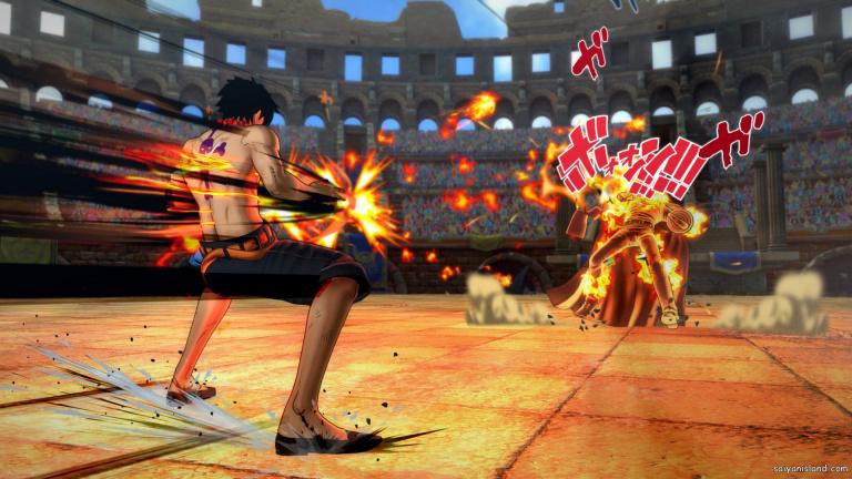 One Piece Burning Blood annoncé sur Steam