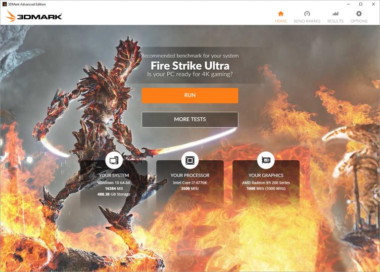 "Futuremark a mis en ligne la ""Holiday Beta"" de 3DMark 2016"