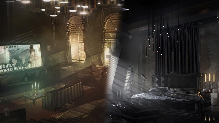 Deus Ex Mankind Divided présente l'appart d'Adam à Prague