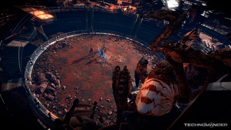 Planète Mars, Aliens, magie : Technomancer s'illustre !
