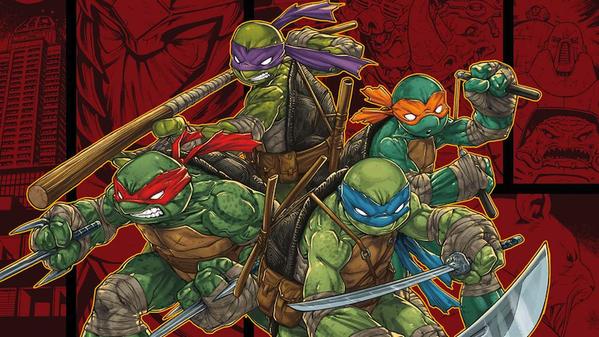 S'agirait-il du nouveau jeu Tortues Ninja de PlatinumGames ?