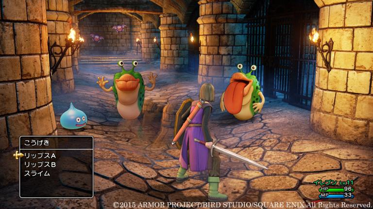 Les annonces autour de Dragon Quest sur Youtube le 13 janvier