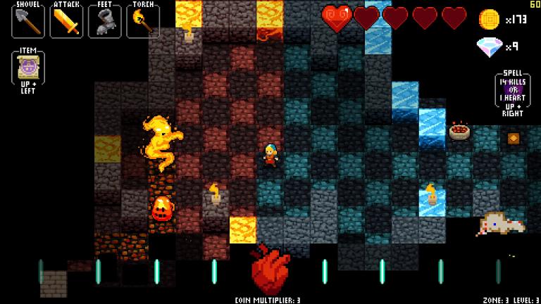 Crypt of the NecroDancer prévu pour le 2 février sur PS4 et Vita