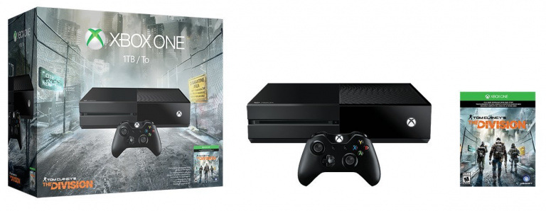 Xbox One : Un bundle The Division 1 To le 1er mars
