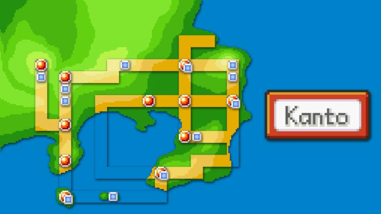 Le monde de Pokémon Rouge et Bleu recréé sous Unreal Engine 4