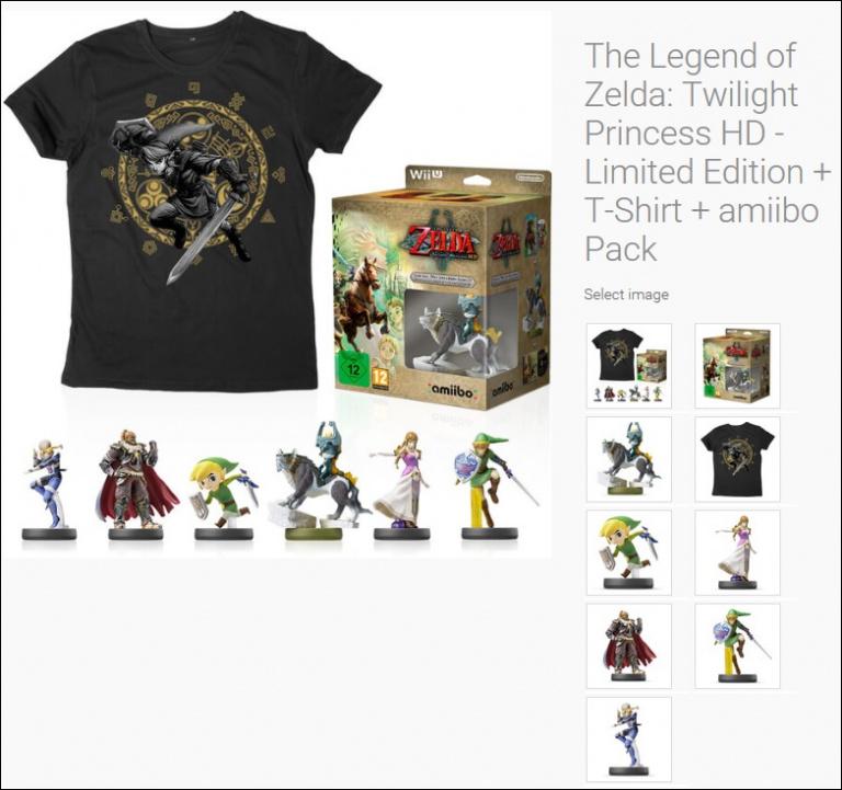 Encore plus de produits dérivés pour The Legend Of Zelda : Twilight Princess HD