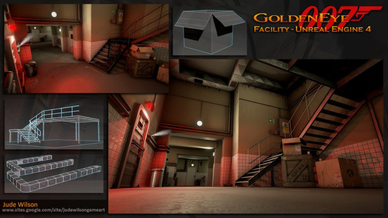 GoldenEye 007 sur N64 vu par l'Unreal Engine 4