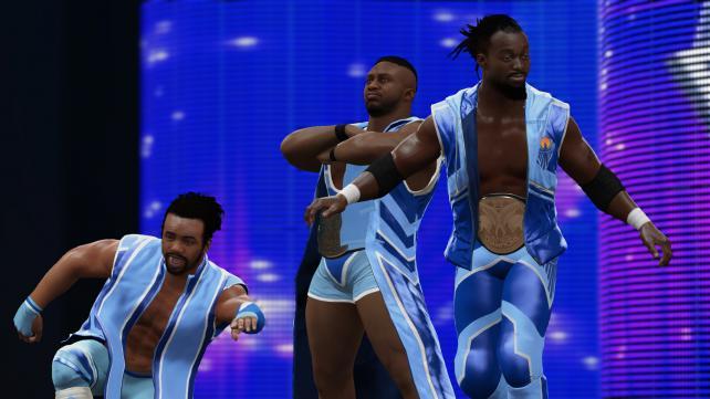 WWE 2K16 : Le Pack Future Stars est disponible