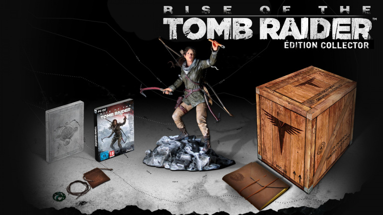 L'édition collector de Rise of The Tomb Raider à gagner