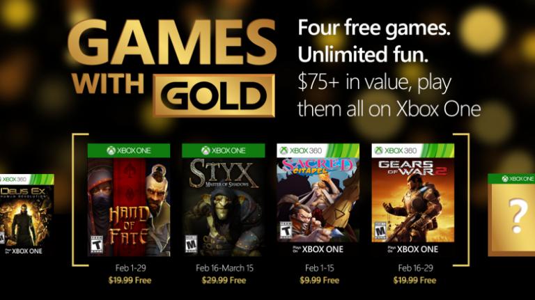 Xbox Gold : Styx, Hand of Fate et Gears of Wars 2 gratuits en février