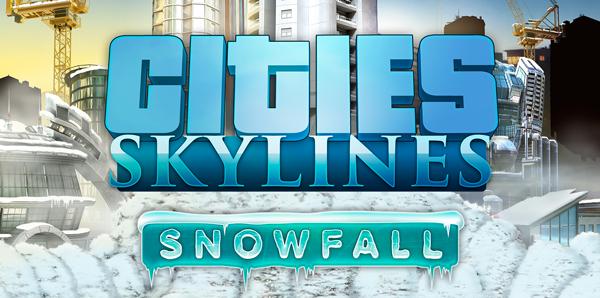 Cities Skyline : Sortie de l'extension Snowfall le 18 février