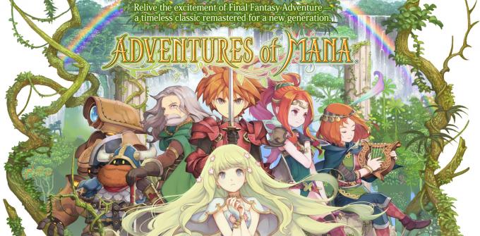 Adventures of Mana disponible aujourd'hui sur mobiles