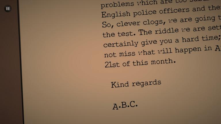 Agatha Christie: The ABC Murders, Poirot à la sauce Sherlock
