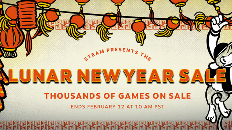 Lunar New Year Sale : des promos Steam à en décrocher la lune
