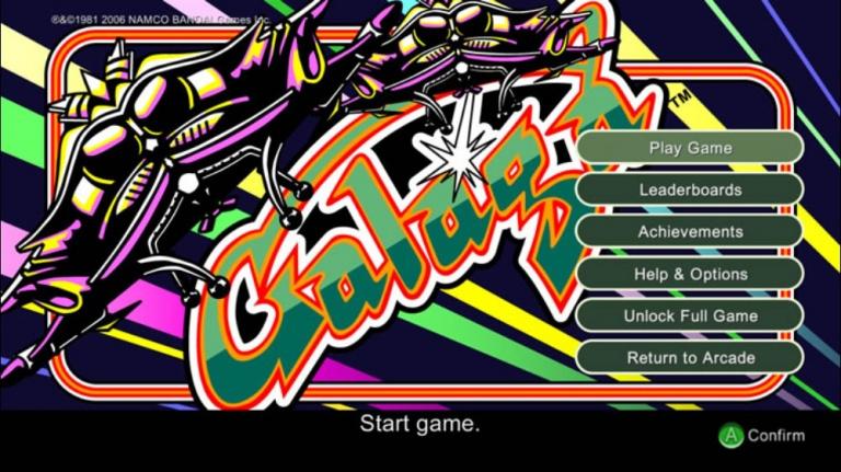 Galaga arrive sur Xbox One