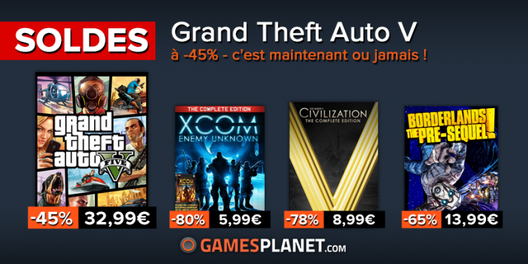 PROMO : Forza Motorsport 6, GTA V, Far Cry Primal...