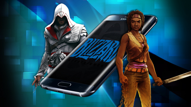 Mobile, Gloire & Tactile #04 : Galaxy S7, Assassin's Creed, The Walking Dead...