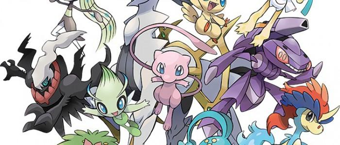 Celebi disponible dès aujourd'hui sur vos jeux Pokémon