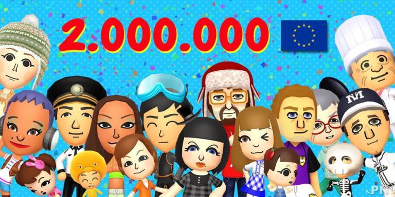 Tomodachi Life ! dépasse les deux millions en Europe
