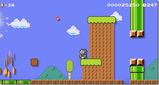 Super Mario Maker : La statue Mario Tanooki débarque