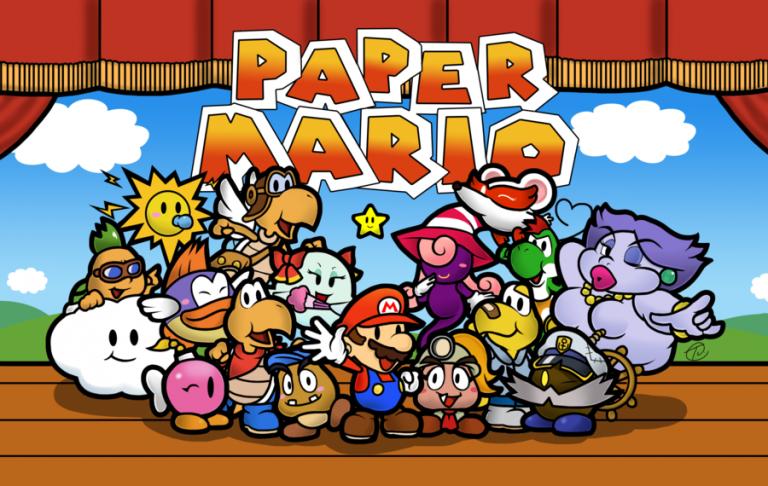 Nintendo Direct : Paper Mario Color Splash annoncé pour 2016