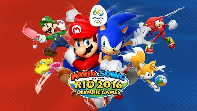 Nintendo Direct : Mario & Sonic aux Jeux Olympiques de Rio 2016 daté sur Wii U