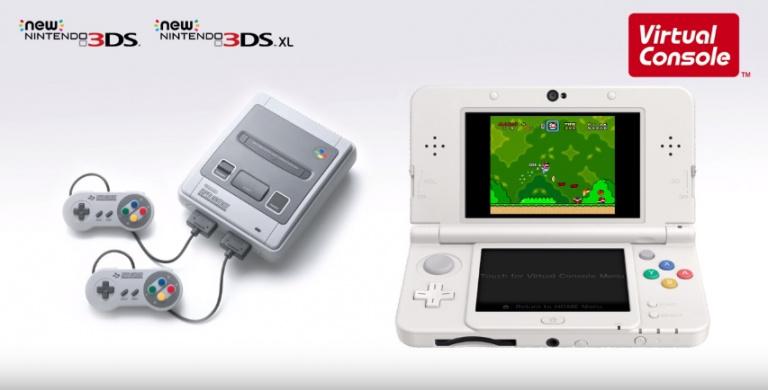 Nintendo Direct : Les jeux SNES arrivent sur New 3DS