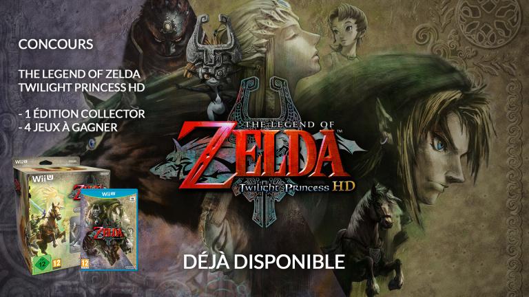 Concours Zelda Twilight Princess HD : Gagnez une édition collector !
