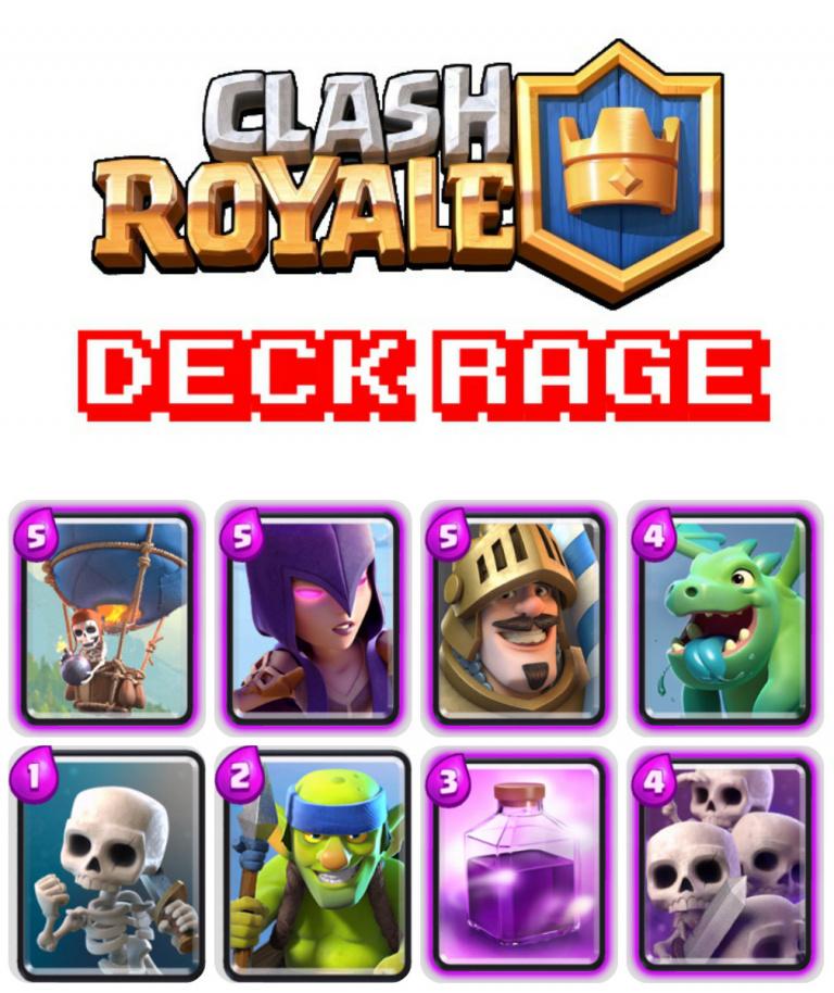 Deck Rage (Arène 3 et +)