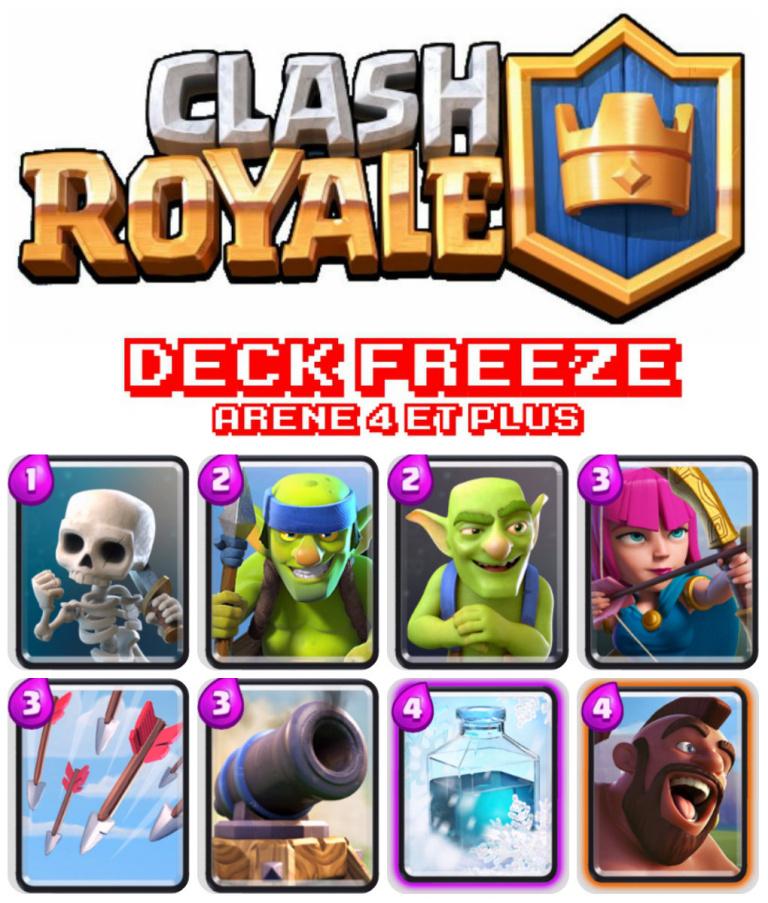 Deck Freeze (Arène 4 et +)