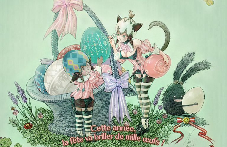 Final Fantasy XIV fête Pâques