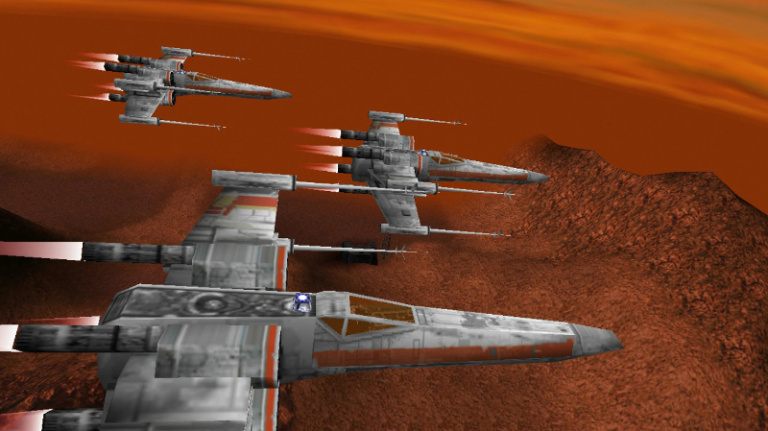 Star Wars : Rogue Squadron disponible sur Steam