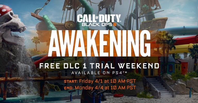 Black Ops 3 : Le pack Awakening jouable gratuitement ce Week-end