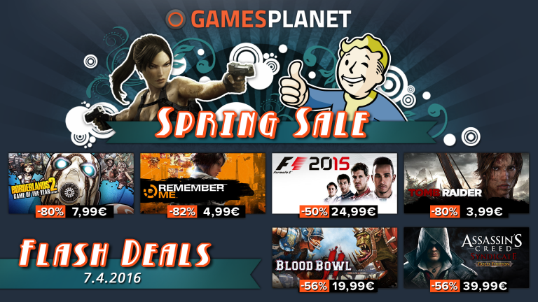 Promo : Tomb Raider, Assassin's Creed et Borderlands à prix cassés