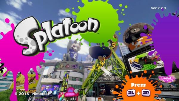 Splatoon : Une nouvelle mise à jour le 13 avril