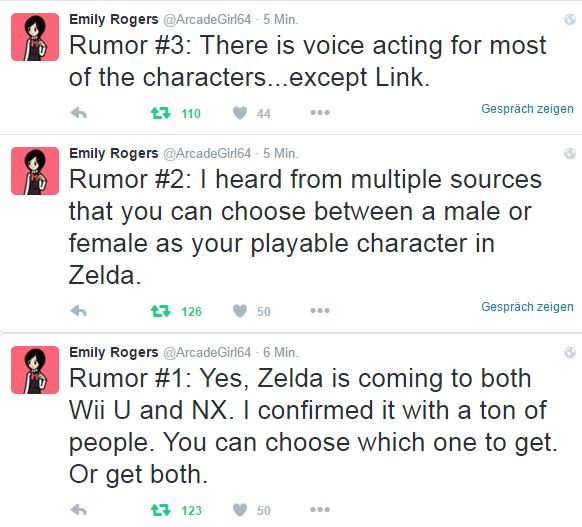 Rumeur : Un Link féminin dans le prochain Zelda