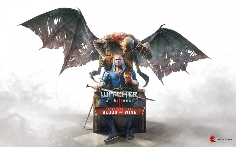 The Witcher 3 : Blood & Wine présente sa pochette
