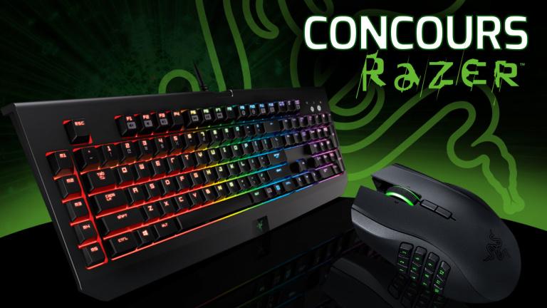 Le clavier Razer BlackWidow et la souris Naga Chroma à gagner