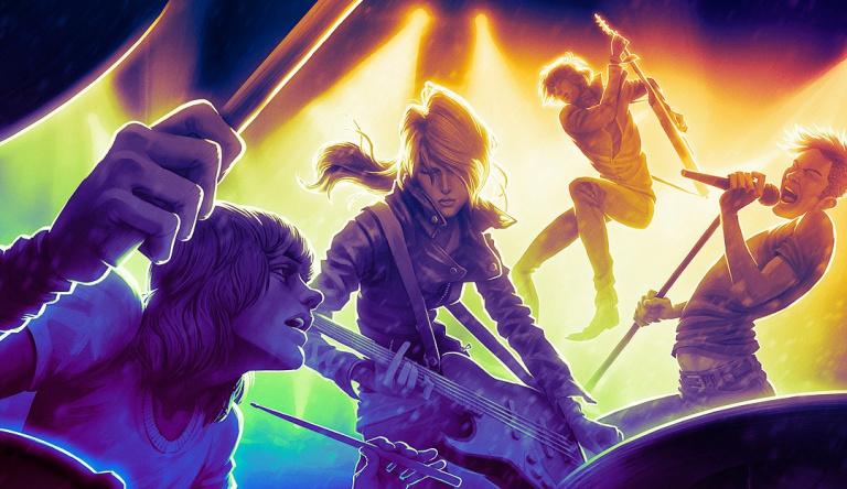 Rock Band 4 : un mode multi online pour cette année