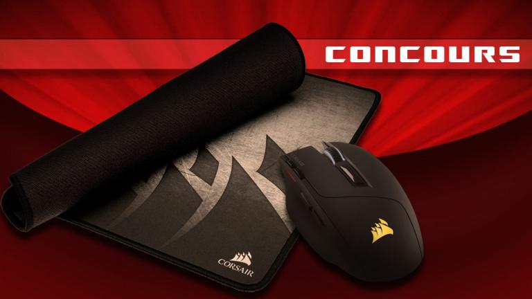 La souris Corsair Sabre et le Tapis MM300 à gagner