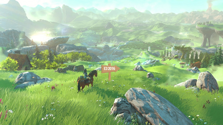 E3 2016 : Zelda sera le seul jeu Nintendo jouable sur le salon