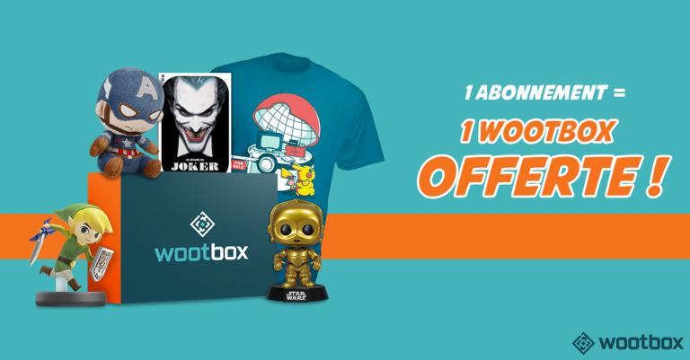 Des offres spéciales sur la Wootbox et la boutique We Are Fans
